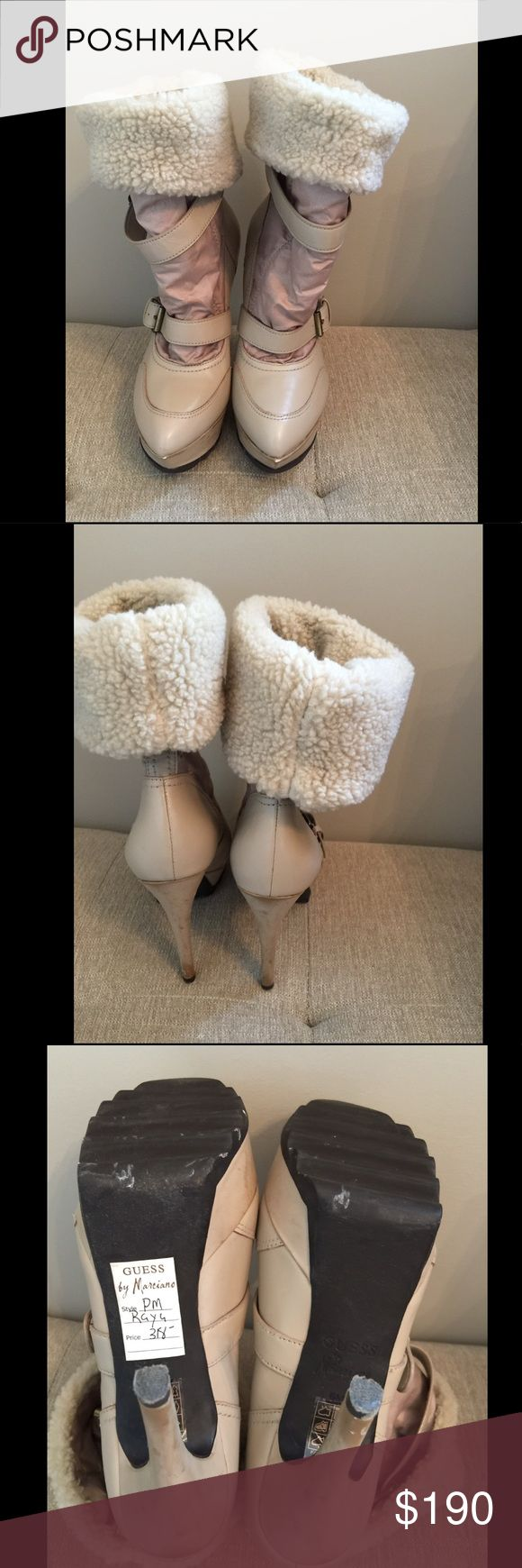 Guess Marciano boots Guess Marciano winter boots. Beautiful boots but no occasions to wear them. New. Never worn. Size 6. Still Price tag on it. Before tax $318 Guess by Marciano Shoes Winter & Rain Boots