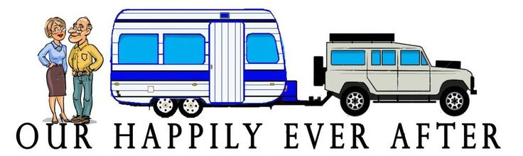 CARAVAN DECAL - OUR HAPPILY EVER AFTER - GREY NOMAD - Jayco Windsor Regal in Vehicle Parts & Accessories, Caravan Parts, Accessories | eBay