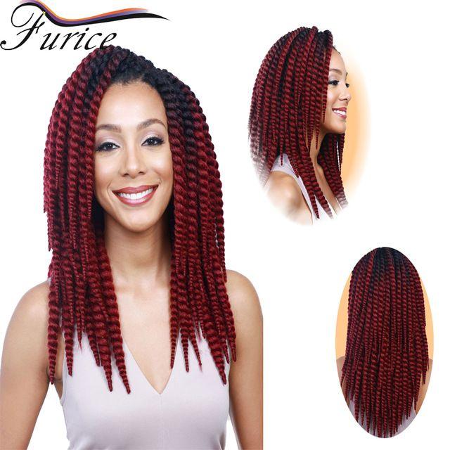 Havana Mambo Twist Crochet Braid Hair  Afro Twist Crochet Hair Synthetic Crochet Braiding Hair Free Shipping 65-120g/Pack
