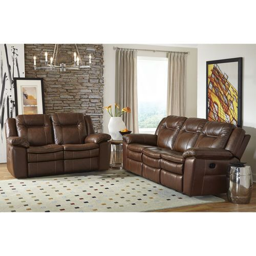 Lillian 2 Piece Top Grain Leather Reclining Set For The Home