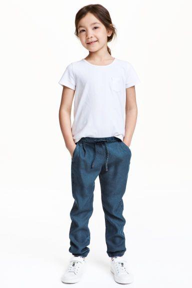 Pantalon jogger en lyocell | H&M