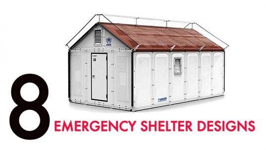 Innovative designs for emergency shetlers