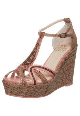 Even - Højhælede sandaletter / Højhælede sandaler - beige