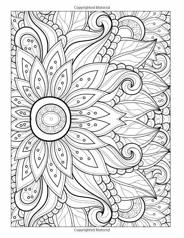 Adult Coloring Page, with Generative Art Patterns. * 8.5 x 11 inch ... | 776x600