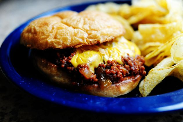 HOMEMADE SLOPPY JOES-from PIONEER WOMAN- she has some of the easiest, simplest, yummiest recipes out there... ♥