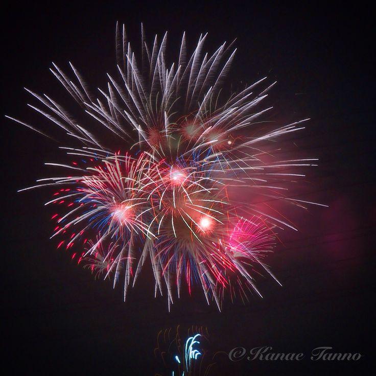 firework. さいたま市東浦和大間木地区花火大会。