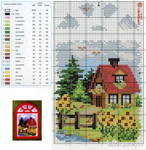 Houses.Casas.Villas.Maisons - LovingCrossStitch - Álbuns da web do Picasa
