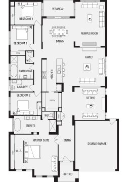 Fairhaven, New Home Floor Plans, Interactive House Plans - Metricon Homes - Regional Victoria