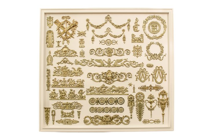 Gold plated products from Casa Achilles in Board 7