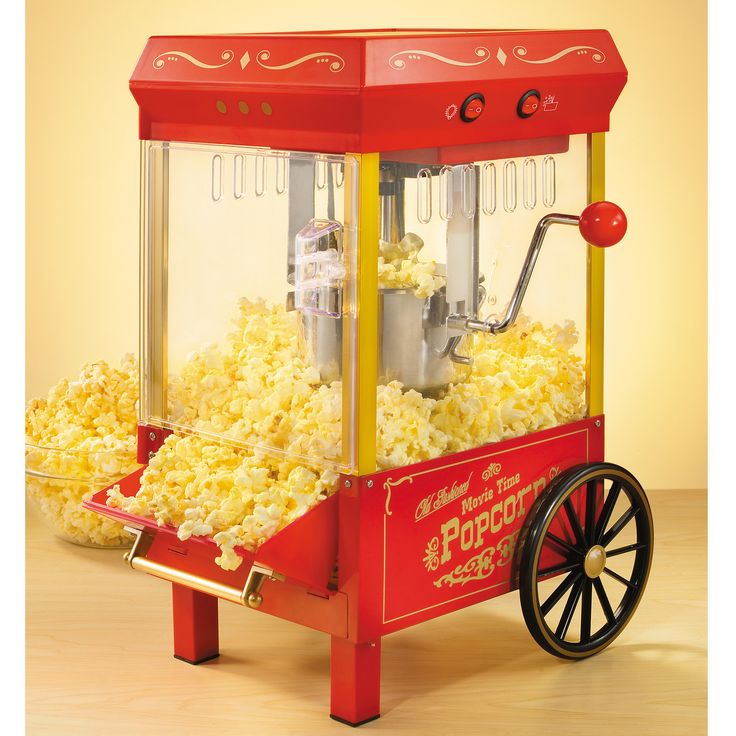 Nostalgia Electrics 2 oz. Old Fashioned Kettle Popcorn Maker