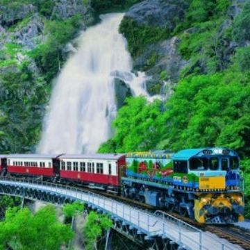 Visit Cairns - Kuranda Skyrail  Train - Cairns City Hotels