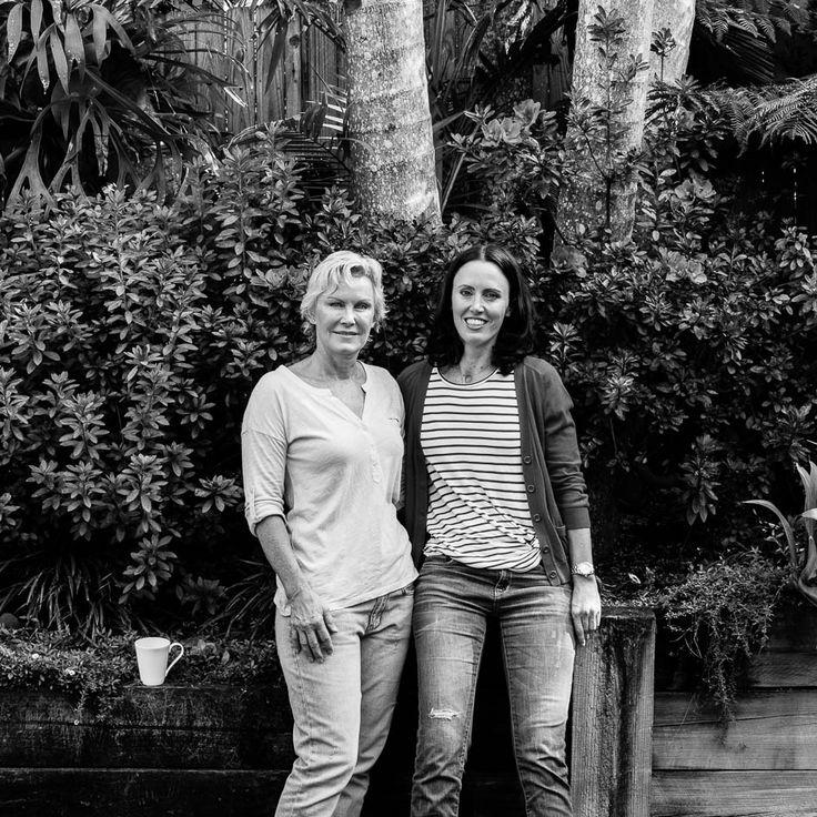 Love this photo of Linda Buchan -  and her mum