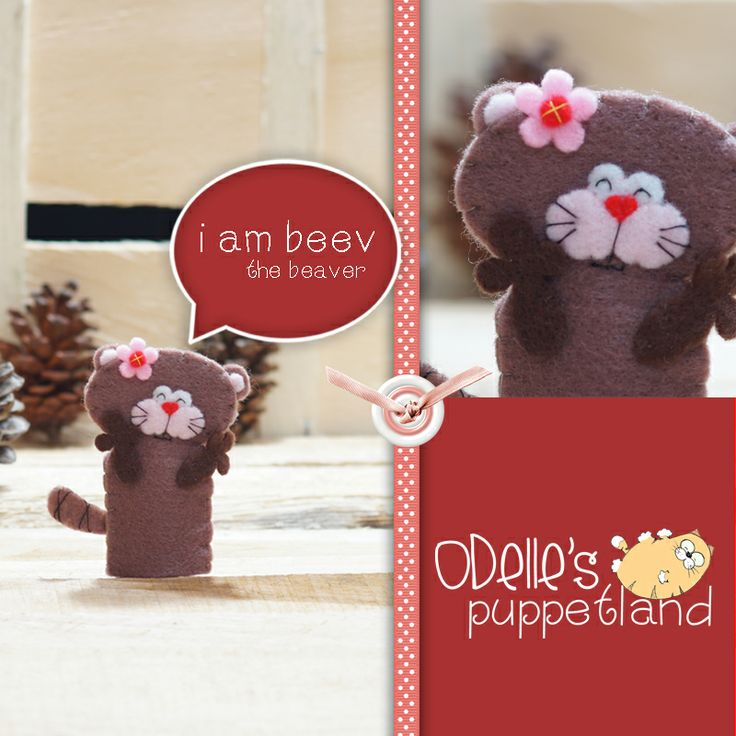 BEEV THE BEAVER  is one of the 50 cute characters in odelle's puppetland. Each character here, is available for the finger puppet, pencil puppet  mini puppet. Get them for only rp7.000/each. Contact me: http://odellespuppetland.blogspot.com sms/wa : 0896 420 97 266 ping me! 7448EE1E  #fingerpuppet # puppet #odellespuppetland #handmade #craft  #felt  #bonekajari #beaver #baby #kids #edutoys