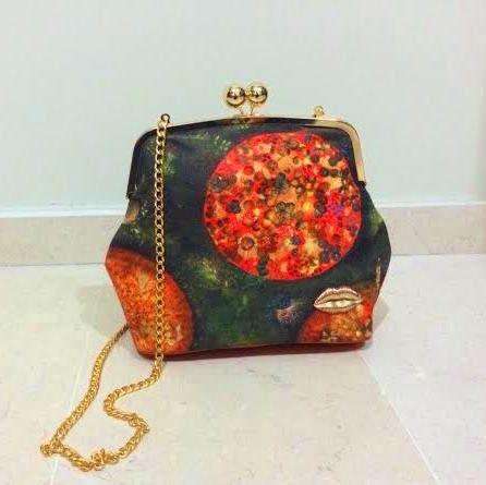 """Cell-fie"" handbag by Dalalism. for details email dalal.farah2010@gmail.com"