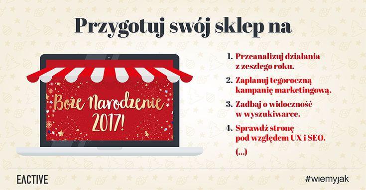 Sprawdź porady jak przygotować swój sklep na Święta Bożego Narodzenia, aby jak najlepiej wykorzystać ten czas i cieszyć się zyskiem w przyszłości!