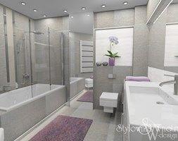 Łazienka styl Nowoczesny - zdjęcie od Stylownia Wnętrz Projektownie i aranżacja wnętrz