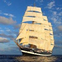 Tall ship arriving for Rouen Armada 2013