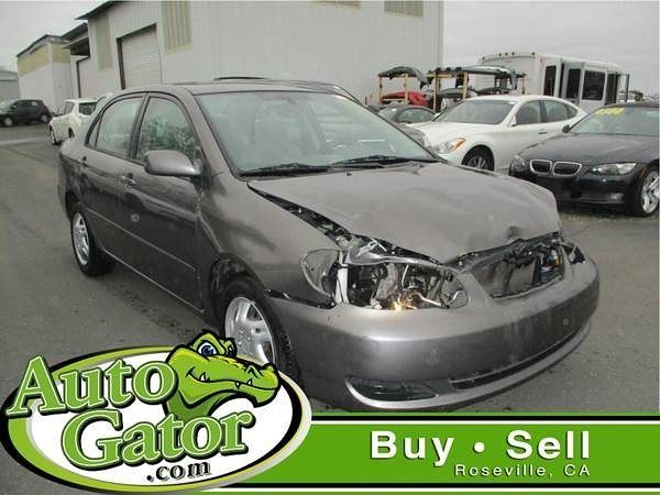 2007 Toyota Corolla LE LE Stk# R17248-$2200  _____________________  Vehicle Information: Front Damage/Radiator Leaks/Dent On Driver Rear Panel Runs & Drives Good Interior/Needs Cleaned Salvage Title Due To Our Dismantlers License Clean Title For Dealers & Wholesalers Only  Vehicle Details: 2007 Toyota Corolla LE LE Price - $2200 Vin - 1NXBR30E97Z871327 Stock - #R17248 Mileage - 115719 Engine Size - 1.80 Trans Type - Automatic Fuel Type - Gas Drive Type - FWD Exterior Color - Grey Interior…