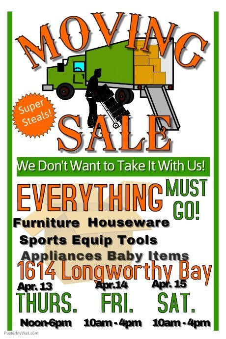 copy of moving sale