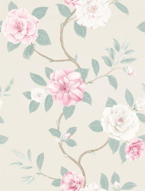Christabel wallpaper by Sanderson