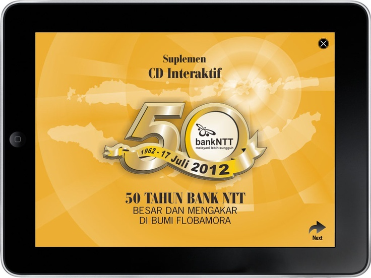 CD 50 Tahun Bank NTT (cover page)