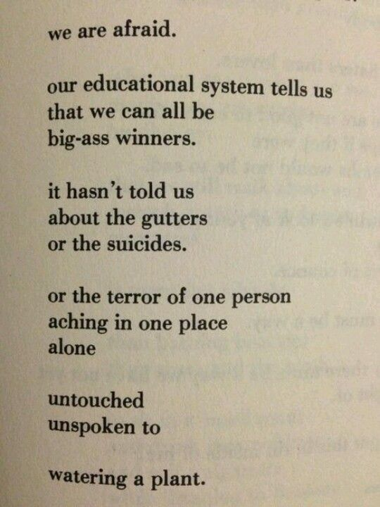 Bukowski • I adore his style of writing; though at times, perverse . . . I can turn my head the other way and focus on the profound.