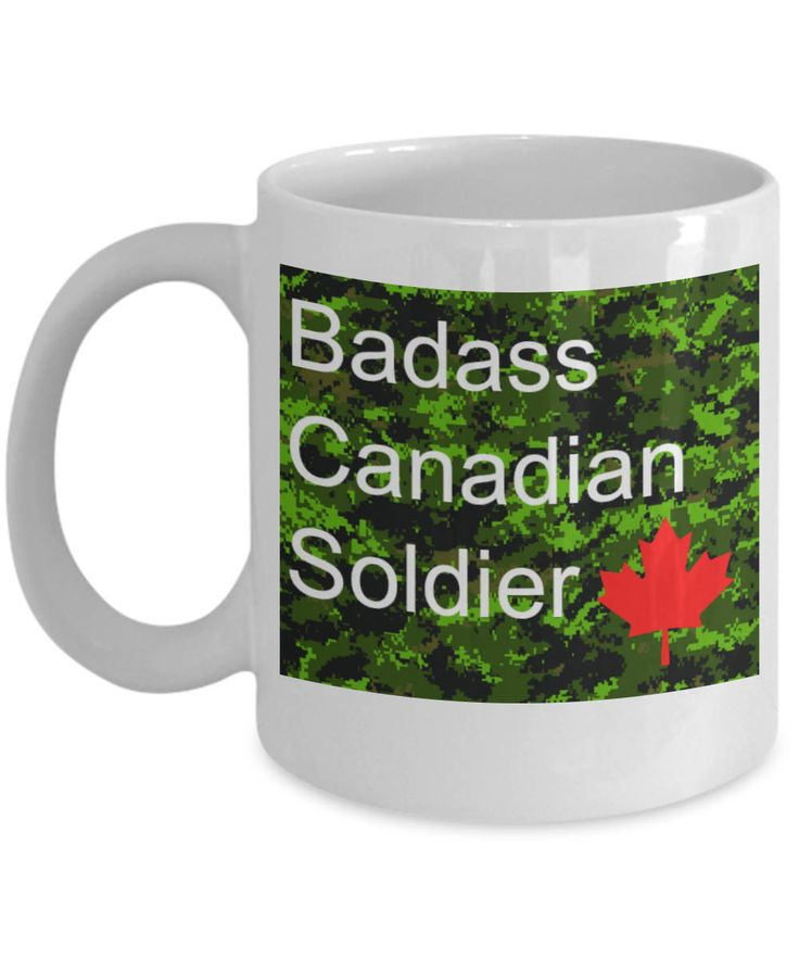 Excited to share the latest addition to my #etsy shop: Badass Canadian Soldier - Canadian Forces Regular or Reserve Gift Coffee Mug http://etsy.me/2jVyUOg  #canadianforces #soldier #forces #regular #reserve #gift #coffee