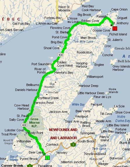 Viking Trail, Newfoundland Newfoundland canada