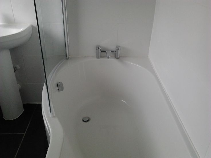 example of shower bath in client's  house