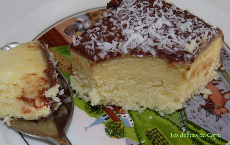 Irresistible gâteau à la noix de coco