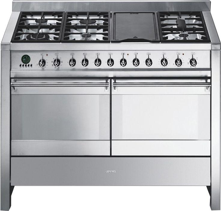 Smeg CSA122X Freestanding Cooker | Rawsons Elite Appliances