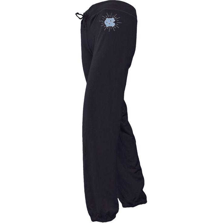 N. Carolina Tar Heels - Foil Logo Girls Juvy Drawstring Sweatpants