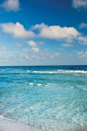 Gulf of Mexico in Panama City Beach, Florida