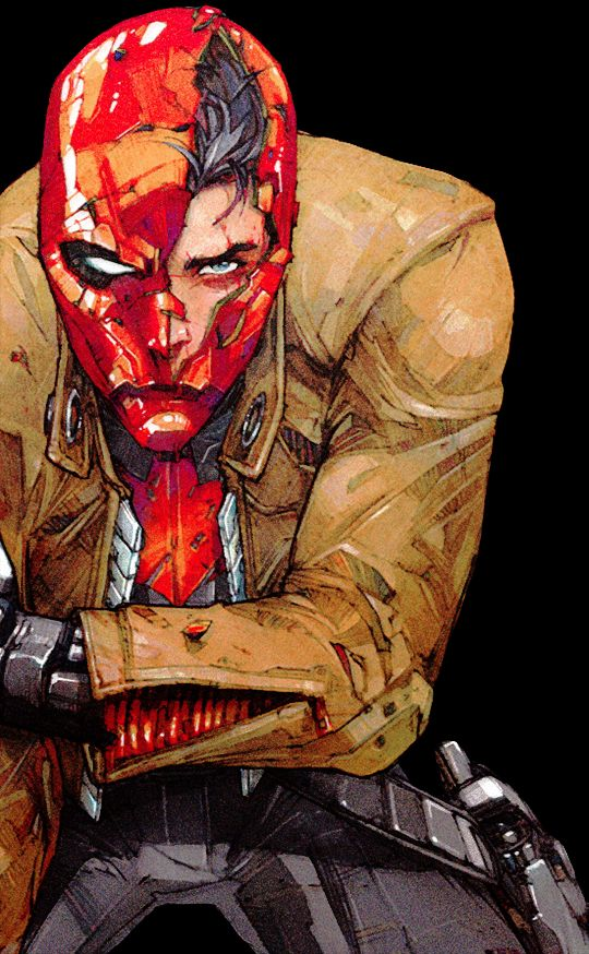 Jason Todd - Love the art, but can't bring myself to read the comic...