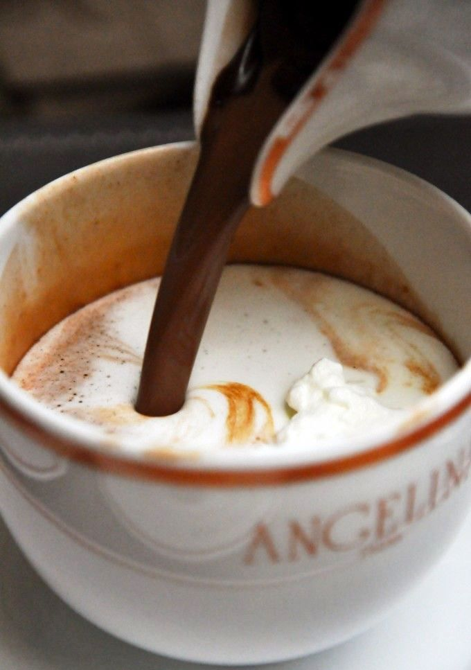 Angelina's Paris - famous hot chocolate