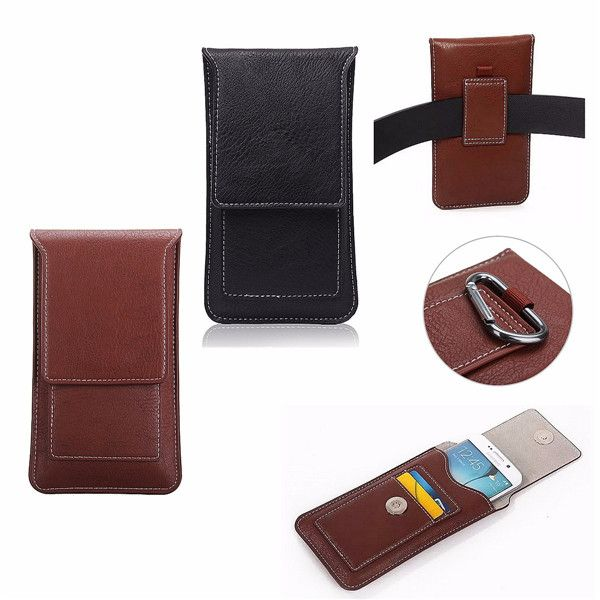 Faux Leather Cell Phone Wallet Bag Purse Pouch Sleeve Case Card Pocket For Apple iPhone 6 6S Plus