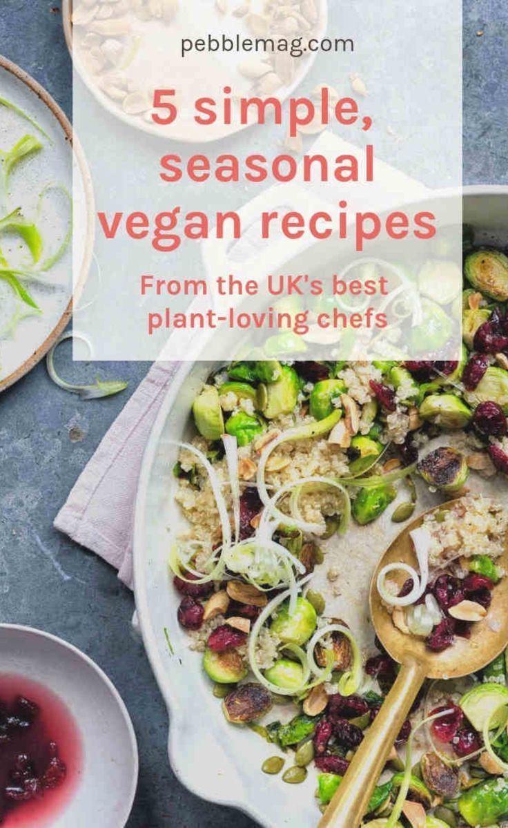 5 Delicious Vegan Dinner Recipes For Veganuary Rezepte