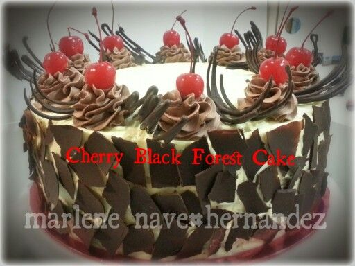 Cherry Black Forest Cake