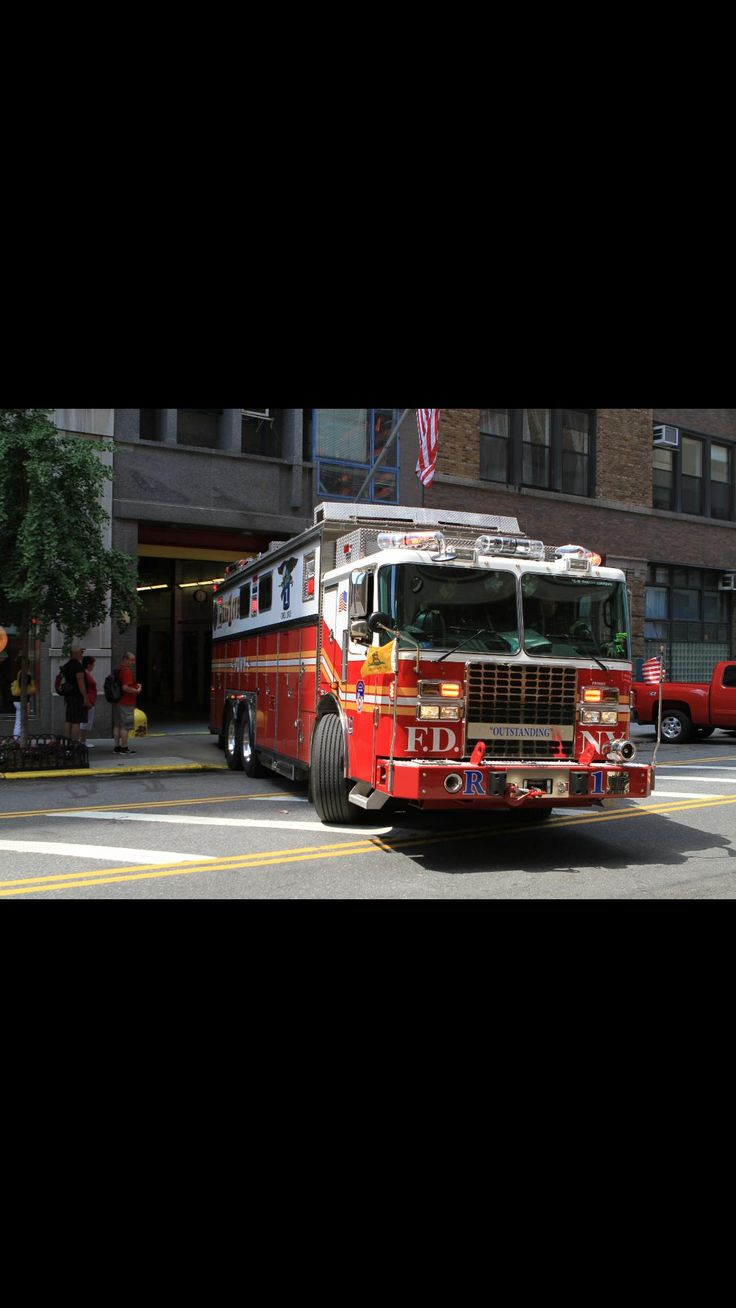 FDNY Rescue 1 #outstanding #fire #rescue #engine #setcom