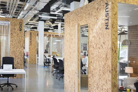 Airbnb hopes for luck of the Irish with pub-like Dublin offices by Heneghan Peng