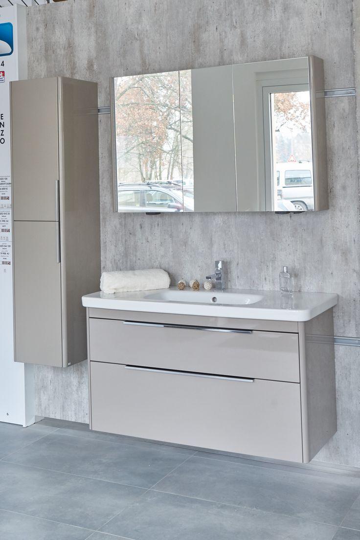 Luxusní koupelnová skříňka s umyvadlem s matným povrchem Enzo Dřevojas
