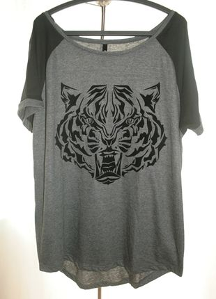 Kup mój przedmiot na #vintedpl http://www.vinted.pl/damska-odziez/koszulki-z-krotkim-rekawem-t-shirty/10528014-koszulka-sinsay-z-tygrysem