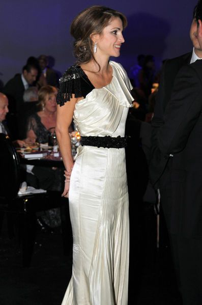 La reine Rania de Jordanie, le 25 novembre 2010