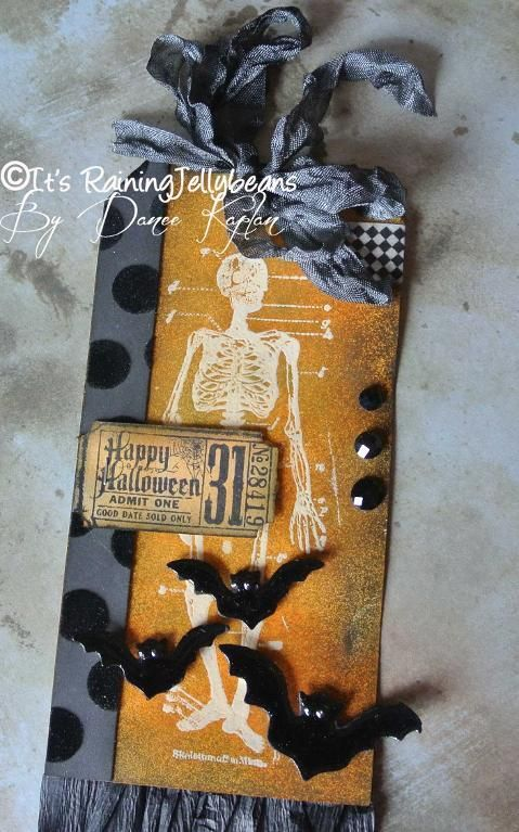 halloween paper craft projects | Halloween Tag #3