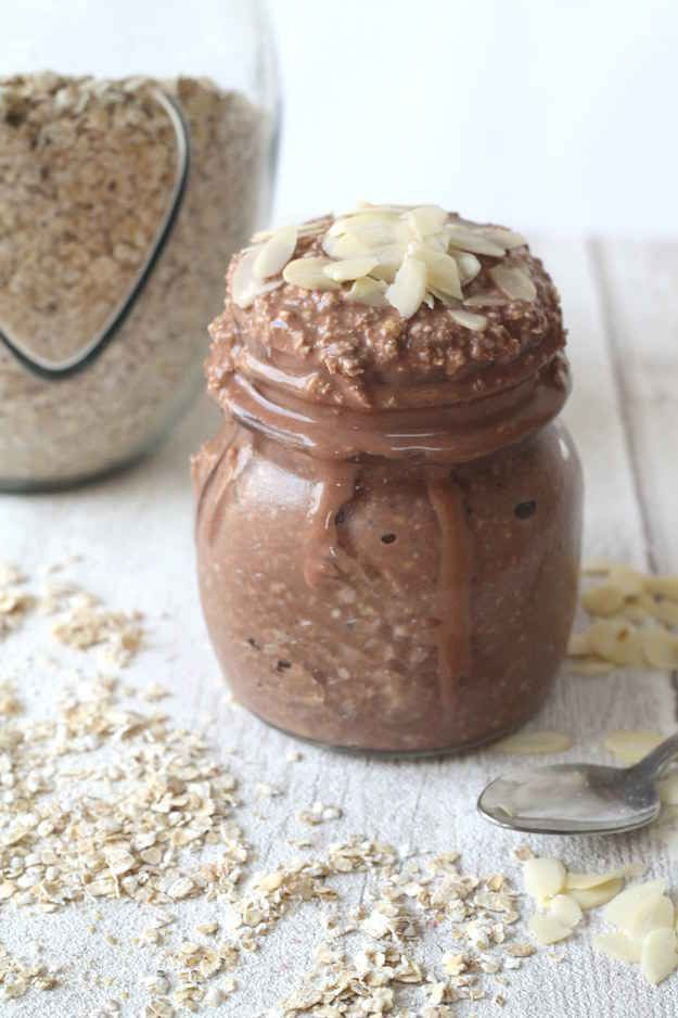 Cocoa Banana Overnight Oats   15 Recipes For Overnight Oats To Start Your Day With