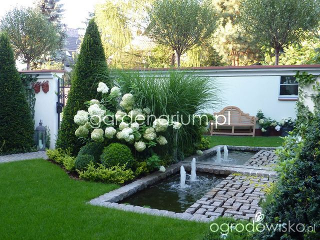 590 best images about landscaping fountains and water for Fountain grass landscaping ideas