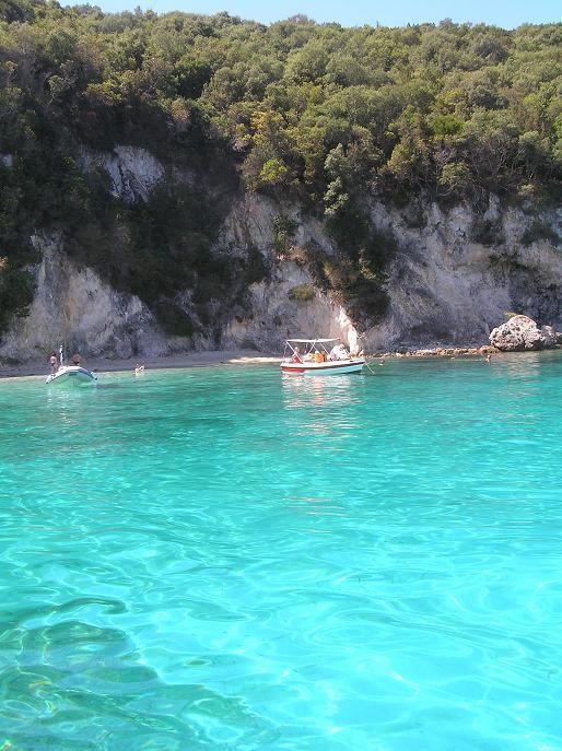 Sunny blue! Paxi, Ionian Sea #Greece