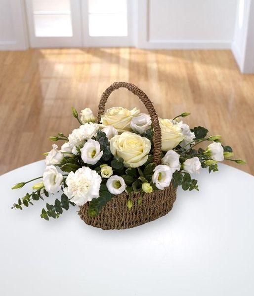Sentiments Basket - Fleurs Amanda