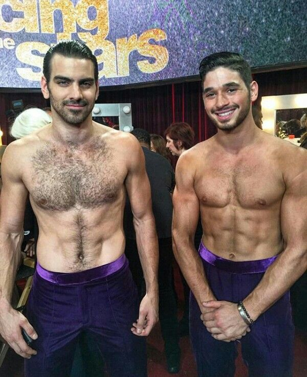 Nyle and Alan on Dancing with the Stars