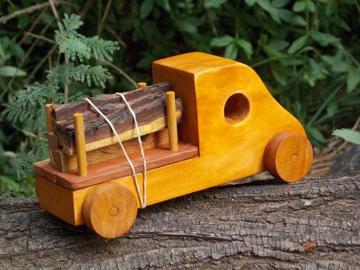 camión con troncos Mapejuguetes https://www.facebook.com/MapeJuguetes